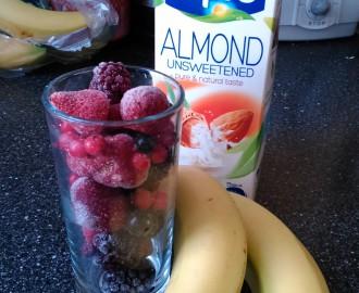 Bananove smoothie 1