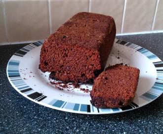 Zdravý kakaový mrkvový koláč