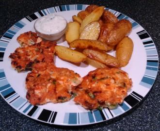 Fishcake z lososa