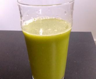 Green smoothie z římského salátu