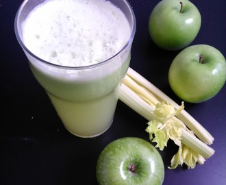 Smoothie z řapíkatého celeru