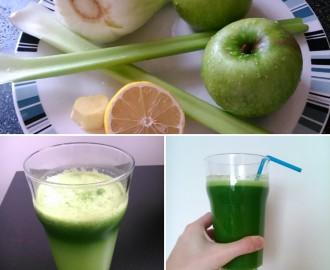 Fenyklové zelené smoothie